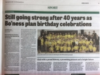 Bo'ness ASC Celebrates 40 Years