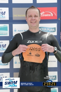 The Great North Swim Open Water event …